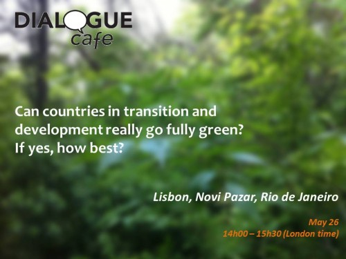 Can countries in transition and development fully go green?