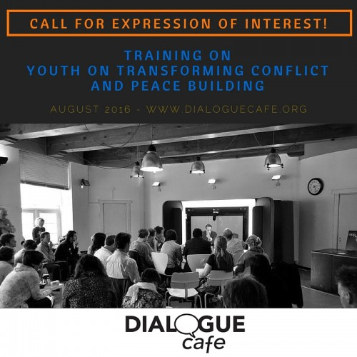 Youth Transforming Conflict - Call