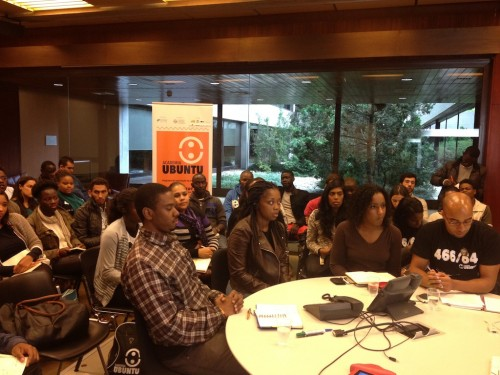 Exchange session with the participation of Academia Ubuntu