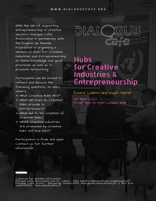 Hubs for Creative Industries and entrepreneurship
